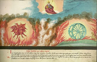 Living creatures (Bible) - Ezekiel's encounter with the Merkabah and the Living Creatures