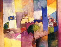 August Macke: Kairouan (III)