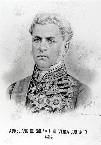 Aureliano Coutinho, Viscount of Sepetiba - Aureliano de Sousa e Oliveira Coutinho, Viscount of Sepetiba