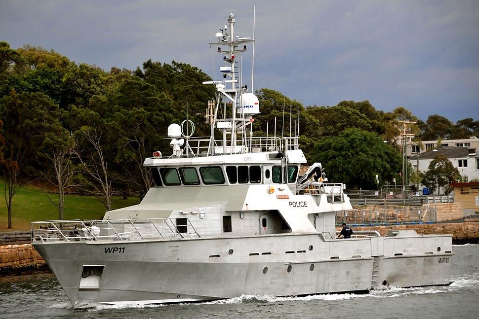 Australian Police vessel Nemesis