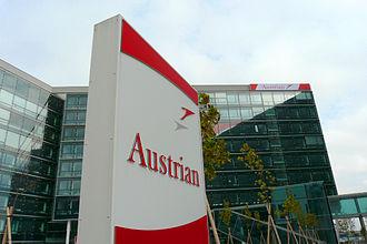 Schwechat - Austrian Airlines building