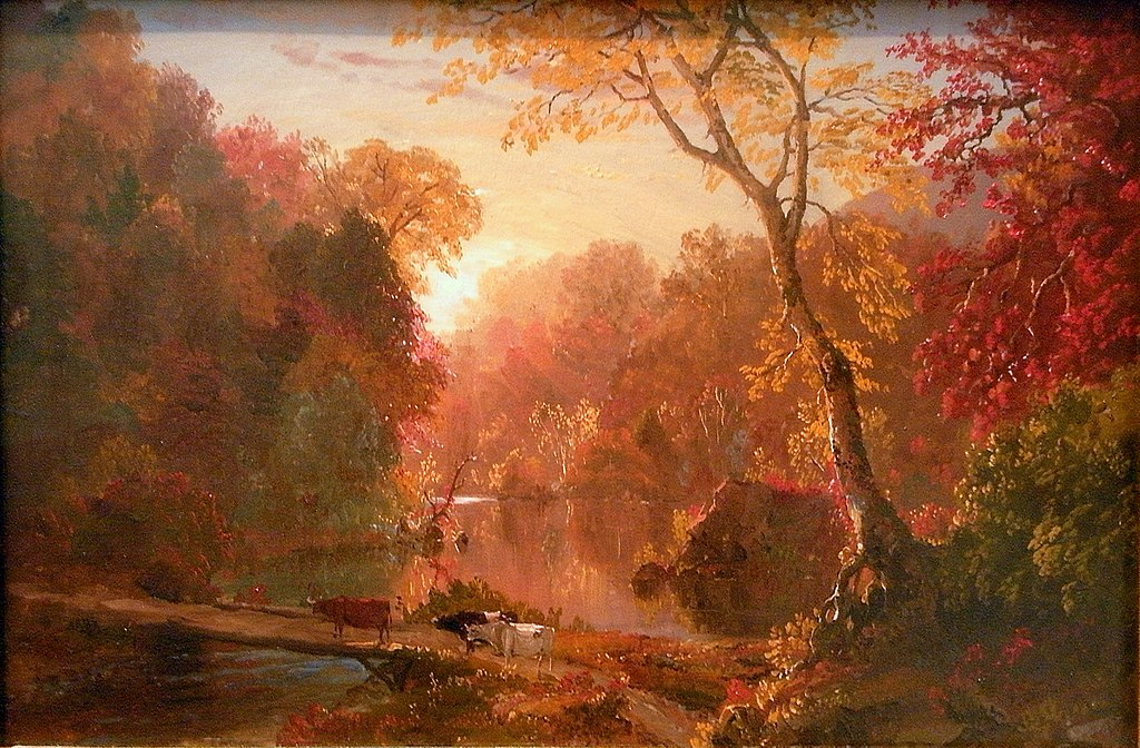 File autumn in north america frederic for Frederick church paintings