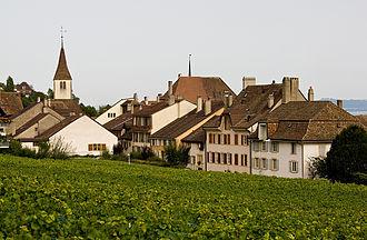 Auvernier - Auvernier village