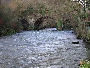 River Avonbeg - The Avonbeg flows under the R752