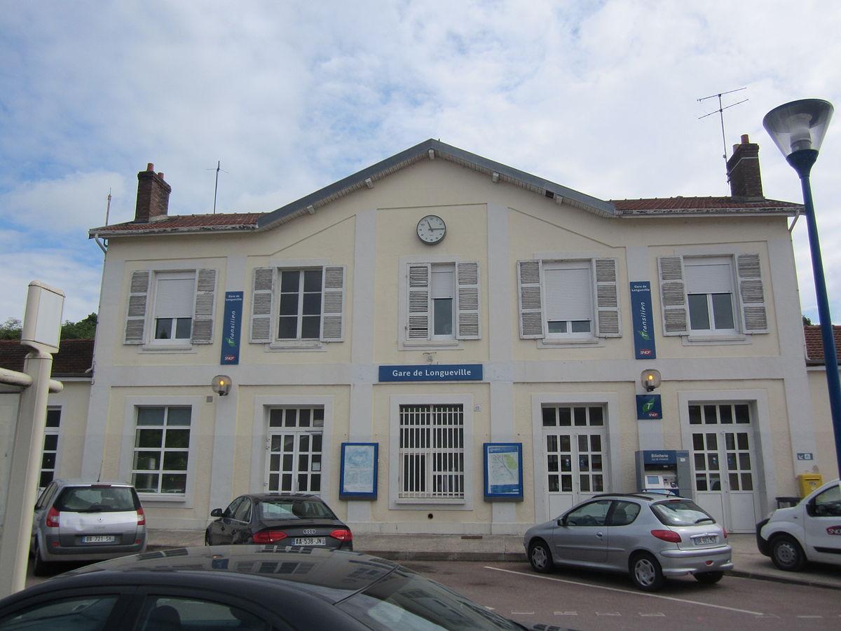 Gare de longueville wikip dia for Garage 4x4 seine et marne