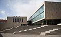 Bürgerhaus, Stadtbibliothek Nordhausen Stairs March-2015.JPG