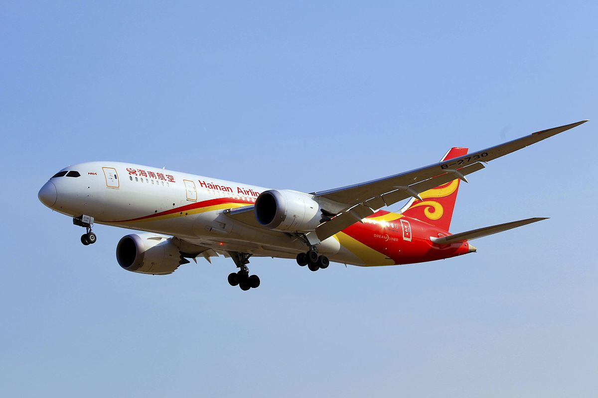 hainan airlines destinations wikipedia