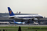 B-2838 - China Southern Airlines - Boeing 757-2Z0 - SHA (9740062749).jpg