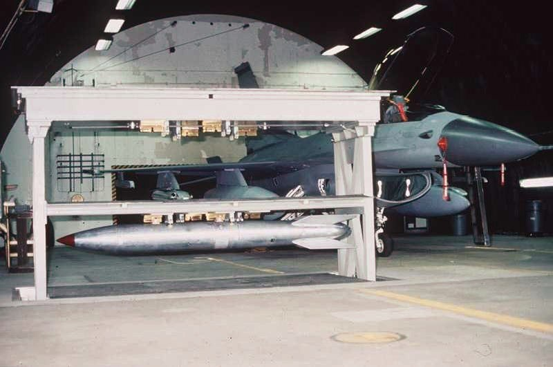 B61 in Weapons Storage and Security System