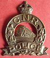 BADGE - Canada - FED - Canadian National Railway Police (very old style)(Kings Crown) (7917003524).jpg