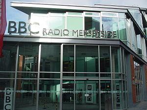BBC Radio Merseyside - BBC Radio Merseyside studios on Hanover Street, Liverpool.