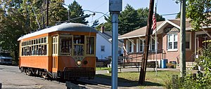 Shore Line Trolley Museum - Main building on River Street