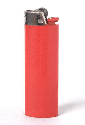 Современная одноразовая газовая зажигалка