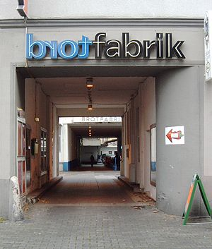 Bonn University Shakespeare Company - The Brotfabrik theatre in Bonn-Beuel