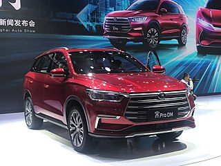 BYD Song Motor vehicle