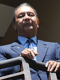 Jean-Claude Duvalier 20th-century President of the Republic of Haiti