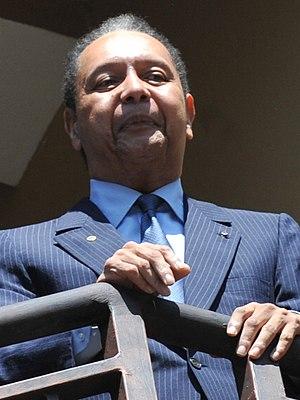 Jean-Claude Duvalier - Image: Baby Doc (centrée)
