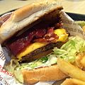Bacon cheeseburger at The Habit. (14453204889).jpg