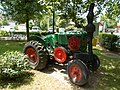 Bacsák György Vocational School, tractor in Fonyód, 2016 Hungary.jpg