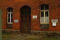 Bahnausbesserungswerk Gebäude 56 Eingang Leinhausen Park Einbecker Straße 1a Hannover.jpg
