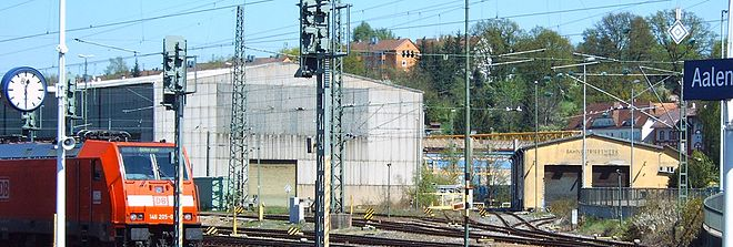 Railway stations opened in 1861 wikivisually for Depot aalen