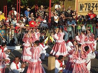 Colombian folklore festival