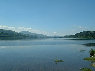 Bala Lake lake in Gwynedd, Wales