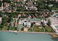 La bordo en Balatonkenese