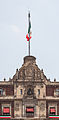 Balcón principal del Palacio Nacional, México D.F., México, 2013-10-16, DD 103.JPG