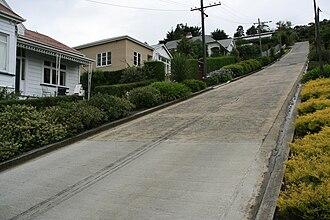 Baldwin Street - Image: Baldwin Street High Resolution Upwards Look