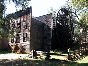 Bale Grist Mill State Historic Park - Image: Bale Mill, CA 128, St. Helena, CA 10 22 2011 11 47 42 AM