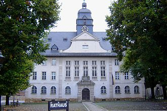 Ballenstedt - Town hall