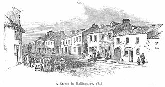 Young Irelander Rebellion of 1848 - Ballingarry 1848