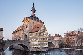 Old town hall (Altes Rathaus) in Bamberg