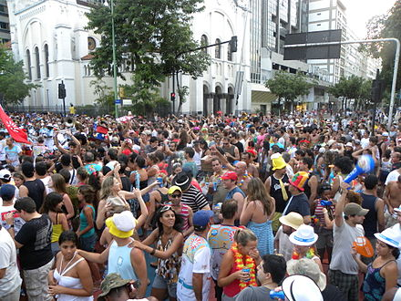 Banda de Ipanema, one of the largest carnival blocks of the city Banda de Ipanema.jpg