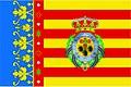 Bandeira de Valência, Terra natal de sua Excelência.jpg