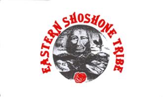 Wind River Indian Reservation - Image: Bandera Xoixoni Est