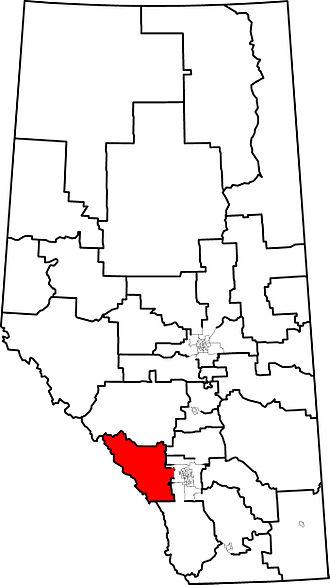 Banff-Cochrane - 2010 boundaries