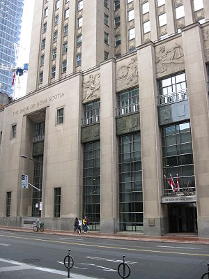 Bank of Nova Scotia Building, now incorporated...
