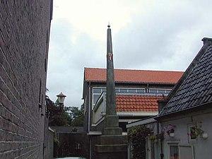 Sloten, Amsterdam - Old border post in Sloten, 5 June 2006.