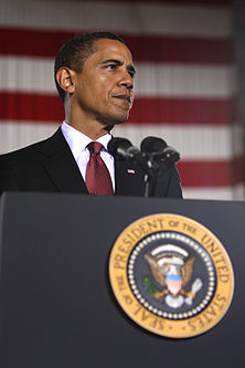 Barack Obama speaks at Camp Lejeune 2-27-09 7.JPG