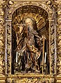 Barcelona Cathedral Interior - Chapel of St. Anthony Abbot 1712.jpg