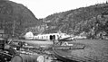 Barkley-Grow T8P-1 CF-BTX of Canadian Pacific Airlines at dock in Port Radium.jpg