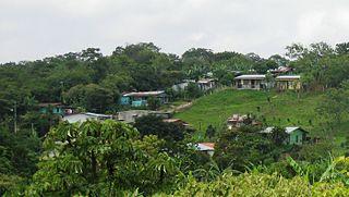 Purabá de Santa Bárbara District in Heredia Province, Costa Rica