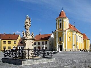 Veselí nad Moravou Town in Czech Republic