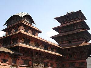 Newa architecture - Kathmandu Durbar Square