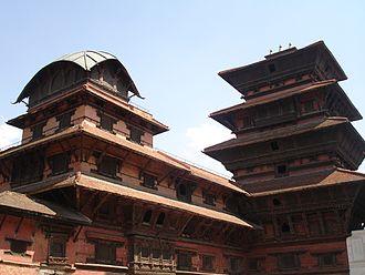 Kathmandu Valley - The Durbar Square in Kathmandu