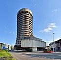 BIZ-Turm von Nordwesten
