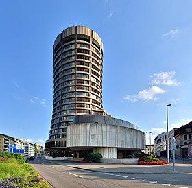 Siège de la BRI à Bâle (Suisse).