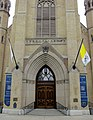 Basilica of the Sacred Heart (Notre Dame, Indiana) - exterior, front portal.jpg